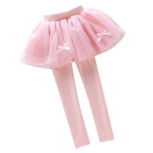 Highdas Kinder Mädchen Leggins Mode Girls Hose Strumpfhose Legging Hosenrock