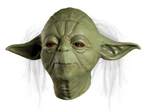 Rubies Kost-me Star Wars Yoda Overhead Latex Maske - Erwachsene - (Für Kostüme Yoda Erwachsene)