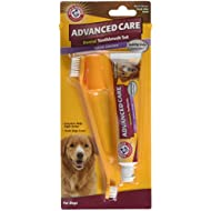 Company of Animals Arm & Hammer Advanced Care Tartar Control Beef Flavoured Toothpaste and Brush Set