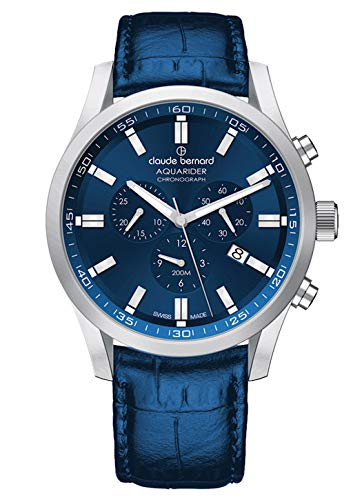 Claude Bernard 10222 3C BUIN1 Men's Quartz Watch with Chronograph Date Analogue Display