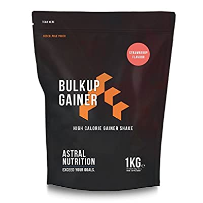 BULKUP Gainer - High Calorie Weight Gain Shake | High In Protein | Full Amino Acid Profile | Gain Mass Fast | UK Manufactured | Money-Back Guarantee by Astral Nutrition