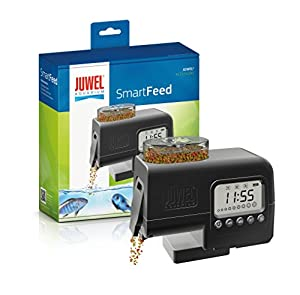 Juwel Aquarium 89010 SmartFeed - Futterautomat, Einheitsgröße, schwarz