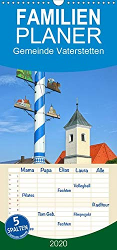 Gemeinde Vaterstetten - Familienplaner hoch (Wandkalender 2020, 21 cm x 45 cm, hoch)