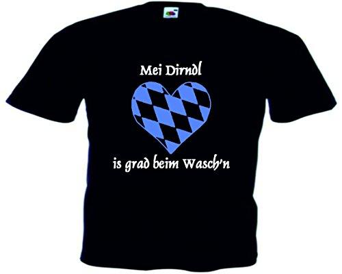 T-Shirt Oktoberfest Wiesn München Junggesellenabschied für Frauen Männer und Kinder in allen Größen XS bis 4XL oder Kinder 104 bis 164 Motiv Nr.56 Kinder-Schwarz