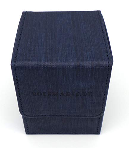 docsmagic.de Premium Magnetic Flip Box (100) Blue
