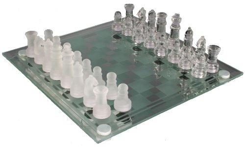 Jeux d'echecs en verre