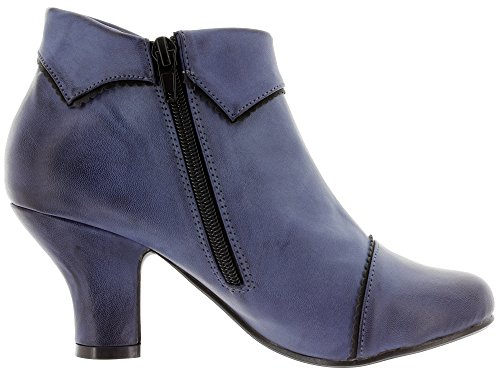 Banned Ankle Boots RUTH BND050 Blue