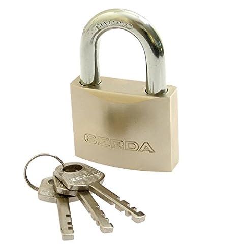 Sparta KD Wa–113Reinforced Open Shackle Lock S50Blister