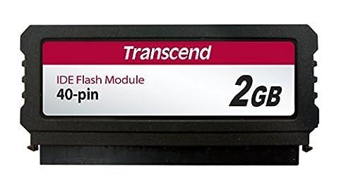 TRANSCEND 2GB IDE Flash Module 40pin vertical SMI Industrie (2gb Ide Flash-modul)