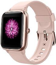 Reloj Inteligente Mujer,Smartwatch Hombre Impermeable IP68 Pulsera Actividad 1.3 Pulgada con Monitor de Ritmo
