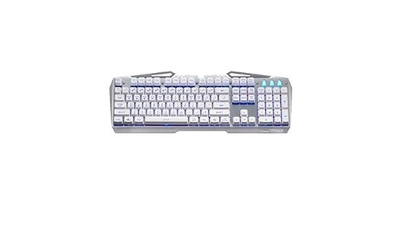 Xenics Stormx Titan Se 104 Schlüssel Für Professionelle Gaming Tastatur Korean English 7 Farbe Led Hintergrundbeleuchtung Silverwhite Computer Zubehör