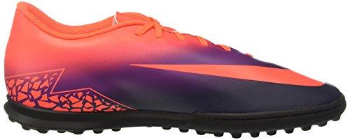 Nike 749891-845, Chaussures de Football en Salle Homme Bleu (Total Crimson/obsidian/vivid Purple)