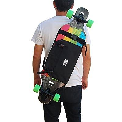 Rucksack, um das Longboard und Skateboard zu tragen..Trendiger Umhängerucksack Crossover Rucksack Schulterrucksack Slingbag Body Bag Crossbag Skaterruc