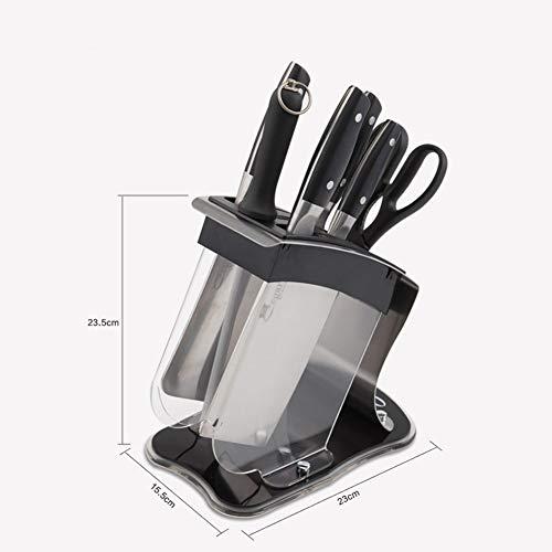 Blade Rack (Xue-shelf Messerhalter, Küchenutensilien Messerblock Schere Anspitzer Rod Haushalt Lagerung Werkzeughalter Rack-leicht zu reinigen - platzsparend,b)