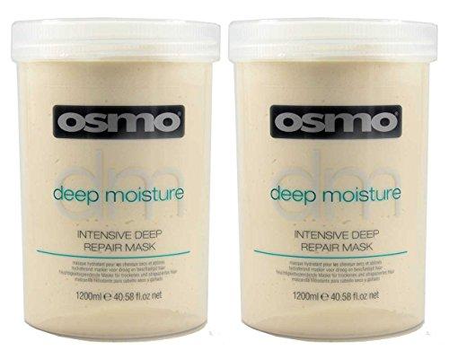 2x OSMO Intensive Deep Repair Mask Trockenes Strapaziertes Haar 1200ml - Deep Repair Mask