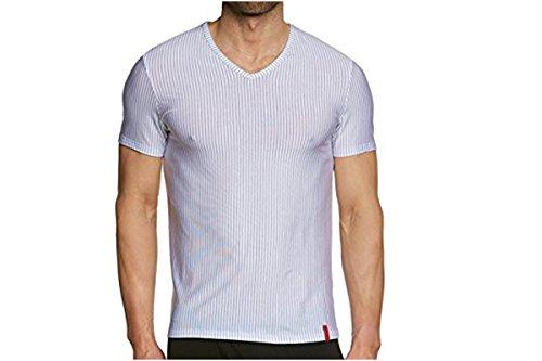 Bruno Banani V-shirt Straight Line - 3 Pack Bianco