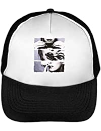 835cda76c7c Girl Rolling Blunt Ganja Marijuana Cannabis Weed Leaf 420 Casquette Snapback  Homme Noir Blanc Baseball