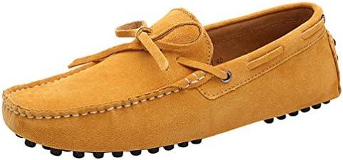 CFP - Botas mocasines hombre, color amarillo, talla 41 EU