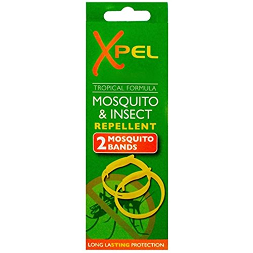 2pulseras antimosquitos para muñeca