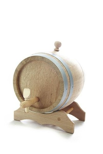 barrique-en-bois-3-l-avec-support-bois-de-chene-naturel-sec