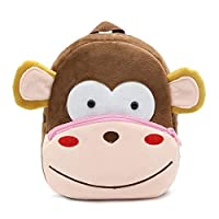 Cartoon Animal Backpack, Cute Toddler Bag Cute School Bags for 2-5 Years Kids, Gift for Kindergarten Kids