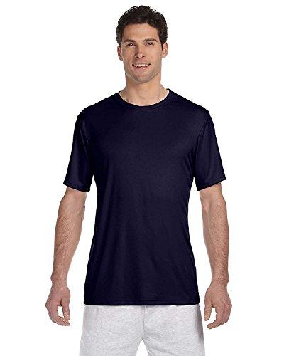 Hanes Cool Dri Tagless Men's T-Shirt_Navy_X-Small (Wick Cool-dri)