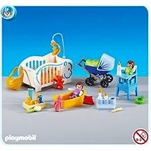 PLAYMOBIL 6226 - 2 Bebés y Complementos para su Cuidado