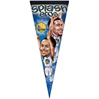 WinCraft Golden State Warriors Splash Brothers Premium NBA Wimpel