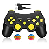Wireless Controller f�r PS3, Bluetooth Dual Vibration Gamepad Sixaixs (6-Achsen) Joypad f�r Sony PS3 PlayStation 3 medium image