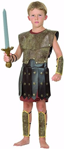 YOU LOOK UGLY TODAY Karneval Halloween Warrior Gladiator Kostüme Costumes für Kinder Junge - (Gladiator Halloween Kostüme)