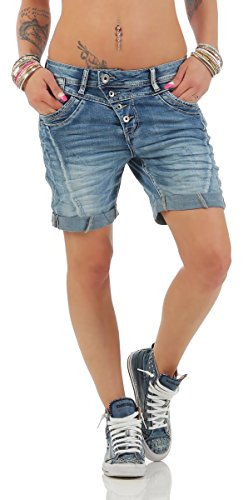 Fashion4Young - Short - Femme 11155-blau