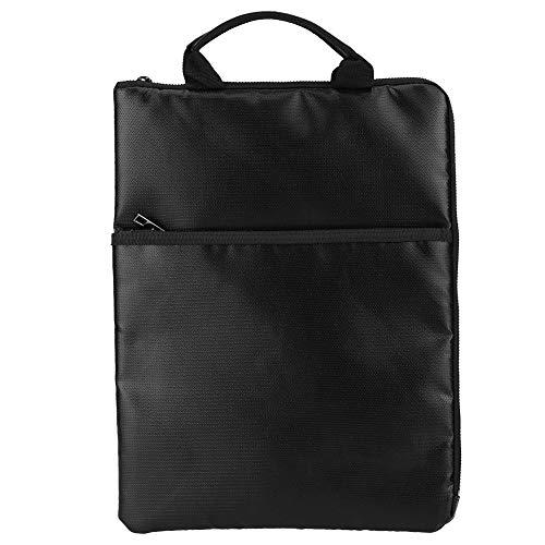 feuerfestes silikon 1000 grad FTVOGUE Portable Document Bag Aktentasche Feuerfest Wasserdicht Reisepass Geld Laptop für Business-Tasche für Datei