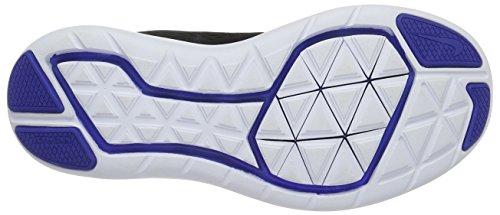 Nike Flex 2016 Rn (Gs), Chaussures de Running Entrainement Homme Noir (Black/metallic Silver/game Royal/white)