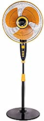 V Guard Wilma STS 3 Blade 400mm Pedestal Fan (Yellow)