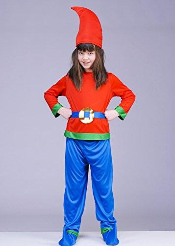 Imagen de disfraz de gnomo de jardín de estilo enano de niños small 4 6 years