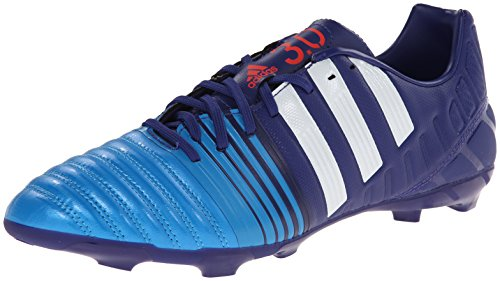Adidas Performance Nitrocharge 3.0 Firm-sol Football Taquet, Amazon Violet / blanc / bleu solaire, 6 Amazon Purple/Running White/Solar Blue