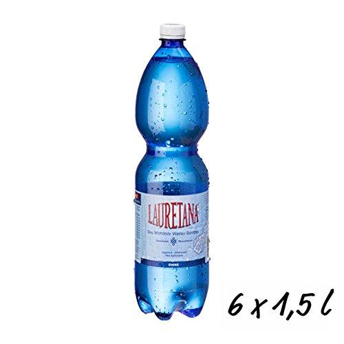 Lauretana Mineralwasser STILL in der 1,5 l. PET Flasche (incl.Pfand) *6 Flaschen* -