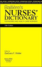 Bailliere's Nurses' Dictionary, International Edition