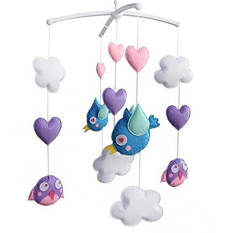 Crib Mobile, Baby Creative Gift, [Coming Spring] Girls' Musical Mobile
