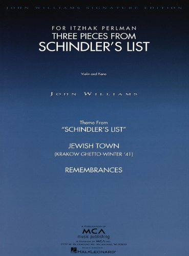 hal-leonard-williams-john-3-pieces-de-la-liste-de-schindler-violon-piano-classical-sheets-violin