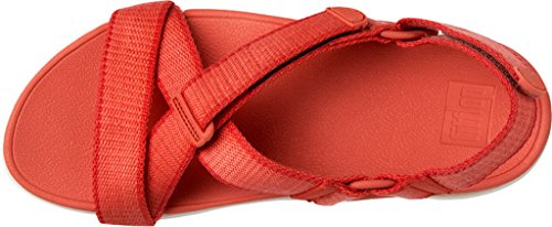 FitFlop Fronde Corail Chaud De Sandales Ii Corail Chaud