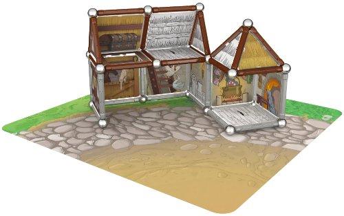Imagen 3 de Giochi Preciosi 601050 - Geomag Castillo 163 Piezas