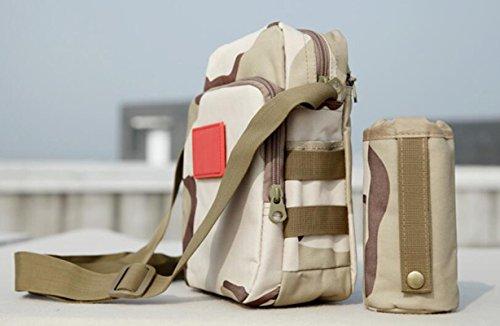 GOUQIN Outdoor Rucksack Klassische Mode Die Outdoor Urlaub Laufen Paket Taschen Wasserkocher Kleine Pakete Reisen Über Ein Paket Klettern Taschen Vielseitigkeit Reiten Ein