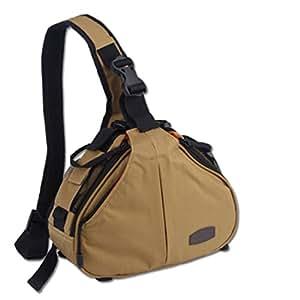 professionnel triangle sac dos sac bandouli re pour appareil photo reflex num rique et. Black Bedroom Furniture Sets. Home Design Ideas