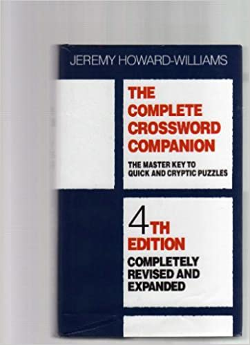 Book The Complete Crossword Companion