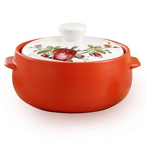 TFguo Kasserolle Eintopf Topf Keramik Feuer Hochtemperatur koreanische Keramik Auflauf Claypot Suppe Pot Porridge Topf Kochen Stein Topf (Farbe : 3) - Koreanisch Kochen-stein
