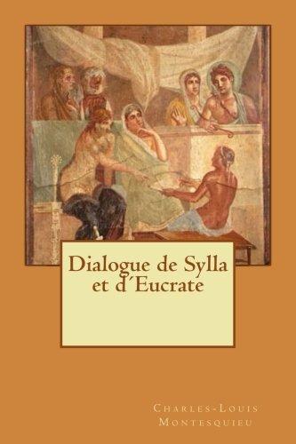 Dialogue de Sylla et dŽEucrate