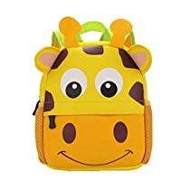 Toddler Backpack Animal,Childs Backpack Personalised Kids Cartoon Animal Backpack Child Baby Girls Boys School Bag Kindergarten