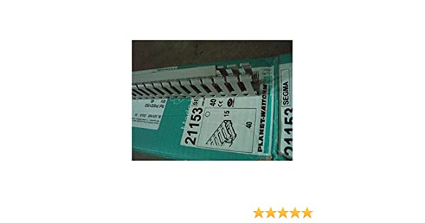 pas de 6//6,5mm grise SEGMA PLANET WATTOHM 21153 au metre Goulotte de cablage segma 15x40mm