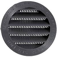 Fawo Lüftungsgitter rund braun 80 mm